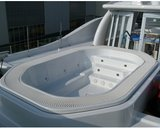 Spaform 3,6m Teamspa whirlpool met overloopgoot_