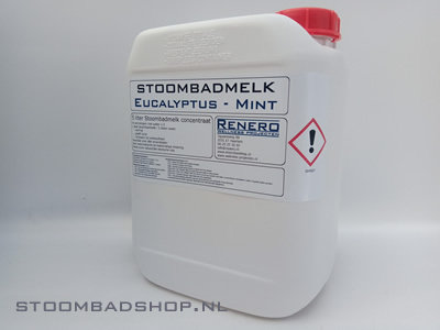 Stoombadmelk Euca-Mint White Label