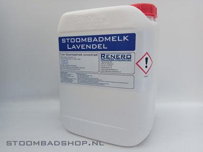 Stoombadmelk Lavendel